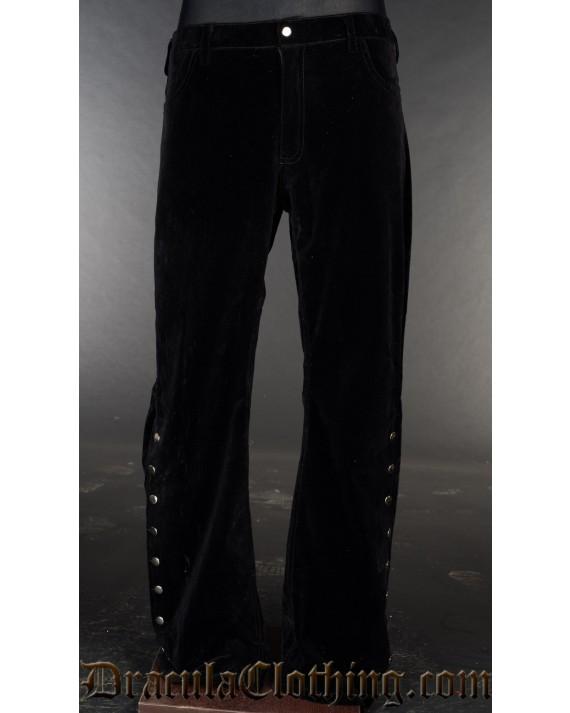 Velvet Officer Pants