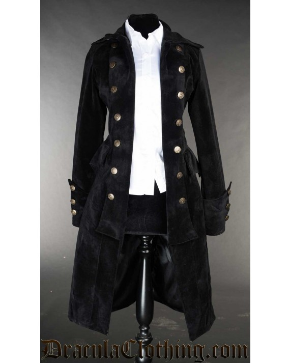 Velvet Pirate Princess Coat