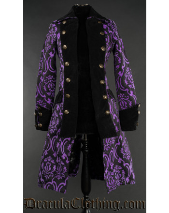 Purple Pirate Princess Coat