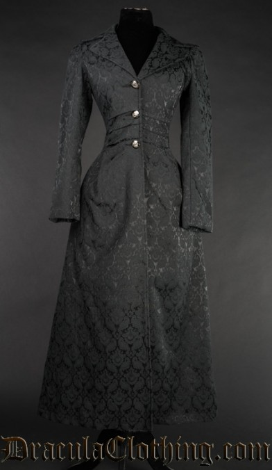 Baronetess Brocade Coat