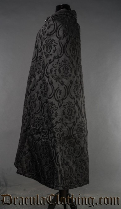 Black Brocade Cape