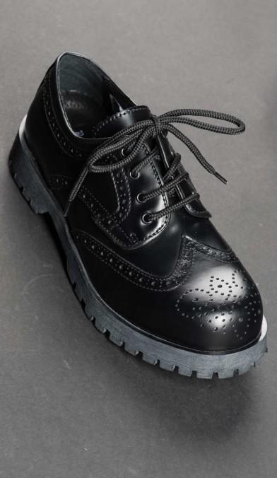 Black Capone Shoes