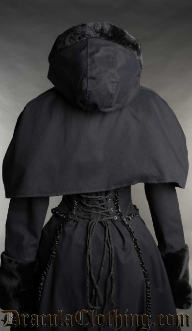 Black Cotton Hood