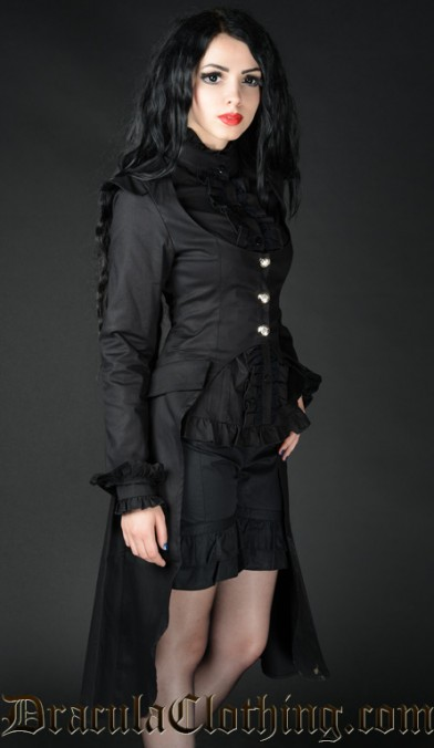 Black EGA Coat