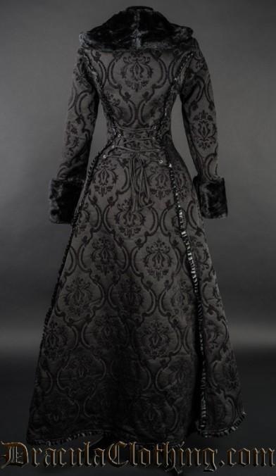 Black Evil Princess Coat