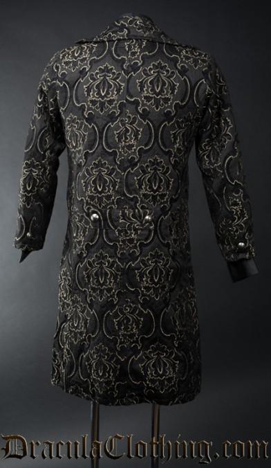 Black Jacquard Tailcoat