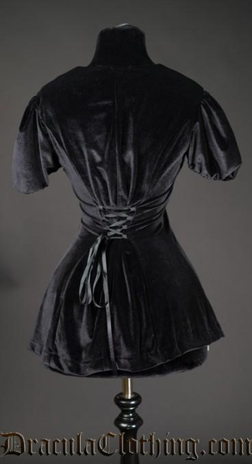 Black Velvet Tunic