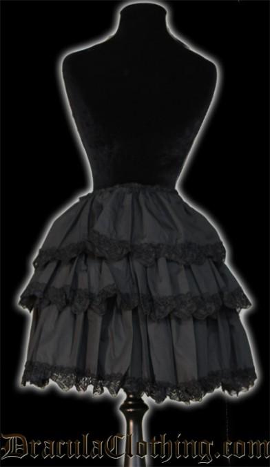 Black Overskirt