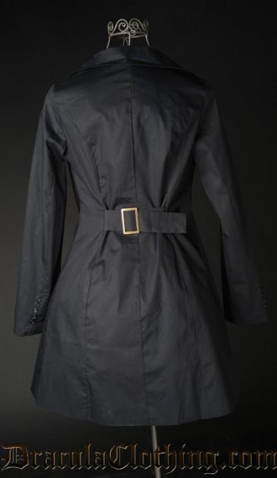 Black Pirate Coat