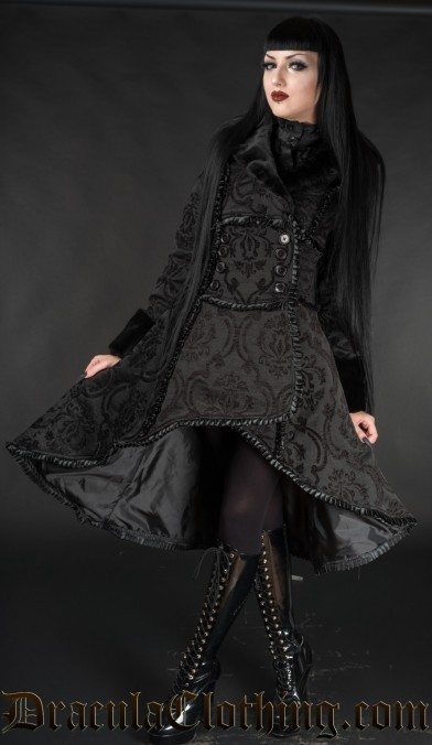 Black Queen Coat