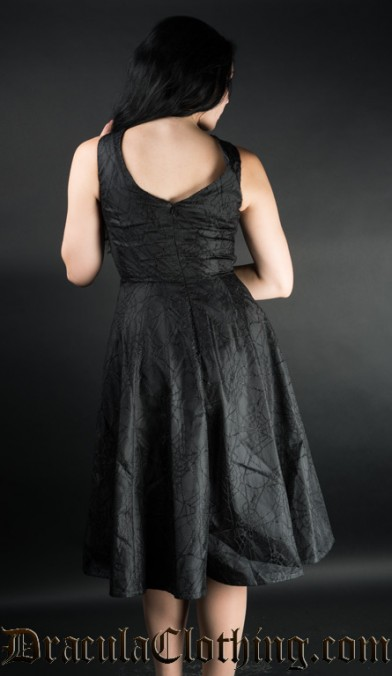Black Spider Dress