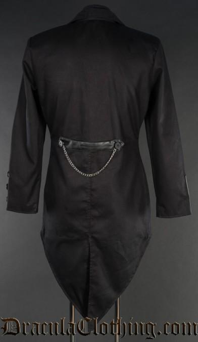 Black Steampunk Tailcoat
