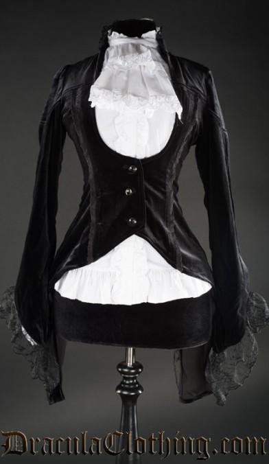 Black Velvet Tailcoat