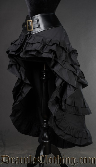Black Vex Skirt