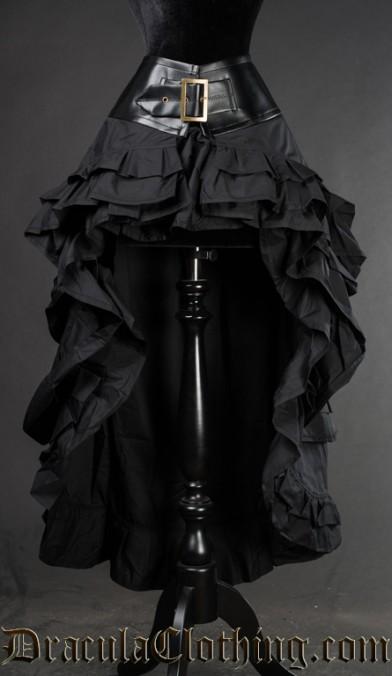 Black Vex Skirt
