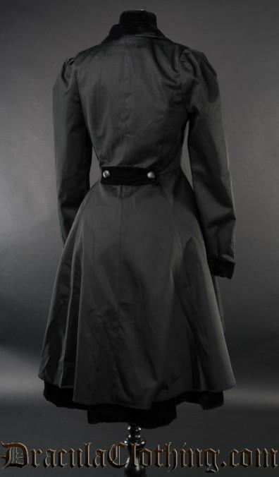 Black Victorian Coat