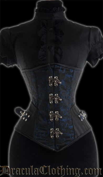Sapphire Assassin Clasp Corset