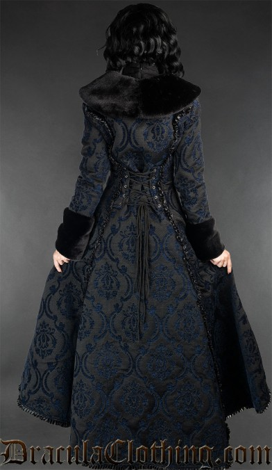 Blue Evil Princess Coat