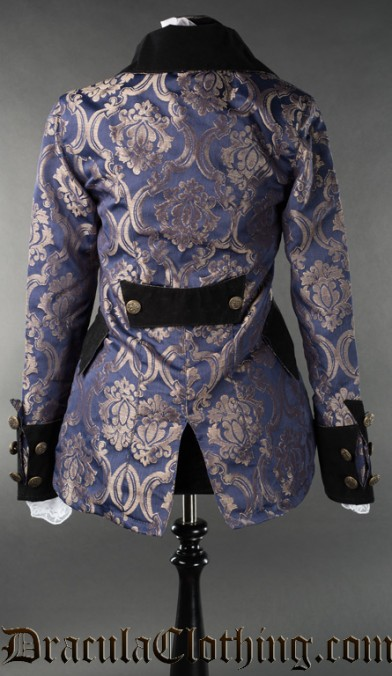 Blue Royal Female Pirate Jacket