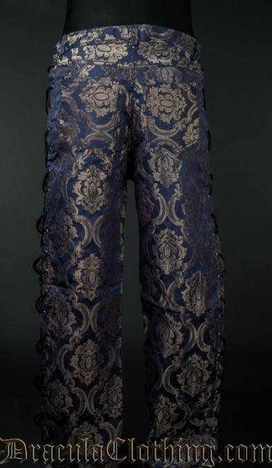 Blue Royal Laced Pants