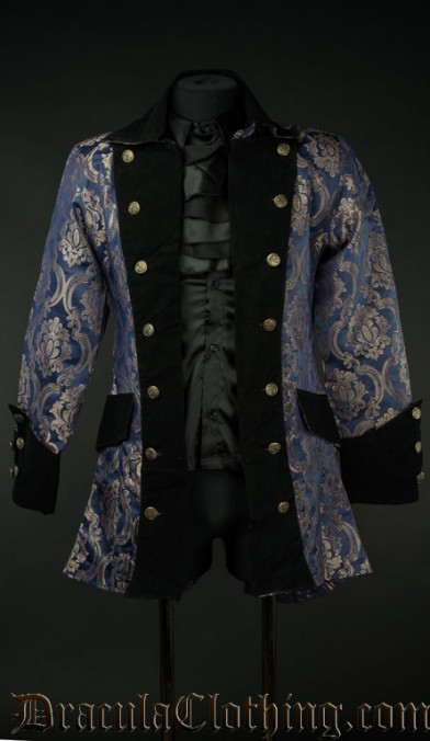 Blue Royal Pirate Jacket