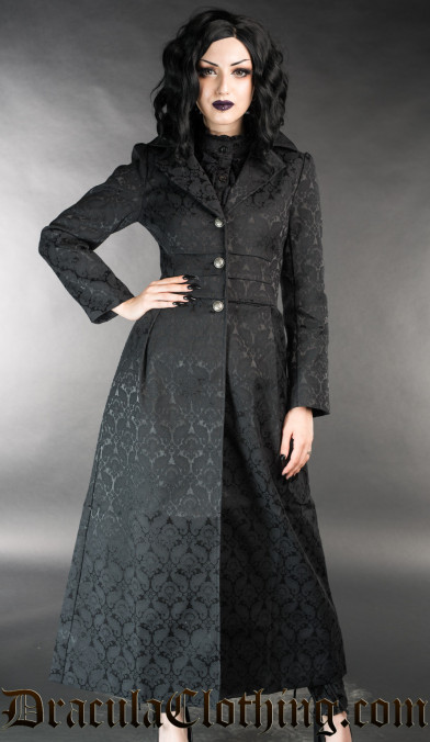 Brocade Baronetess Coat