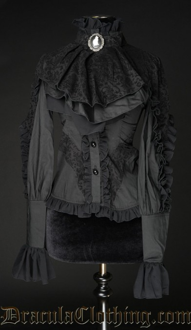Brocade Blouse