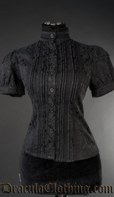 Brocade Edwardian Blouse
