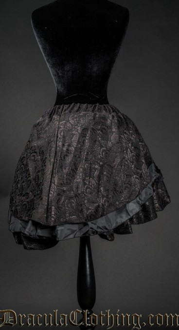 Brocade Short Skirt