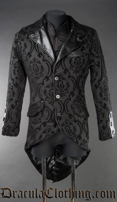 Brocade Steampunk Tailcoat