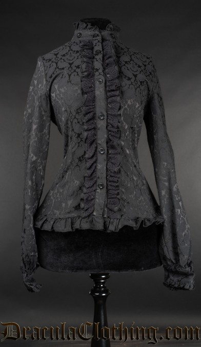 Brocade Victorian Blouse