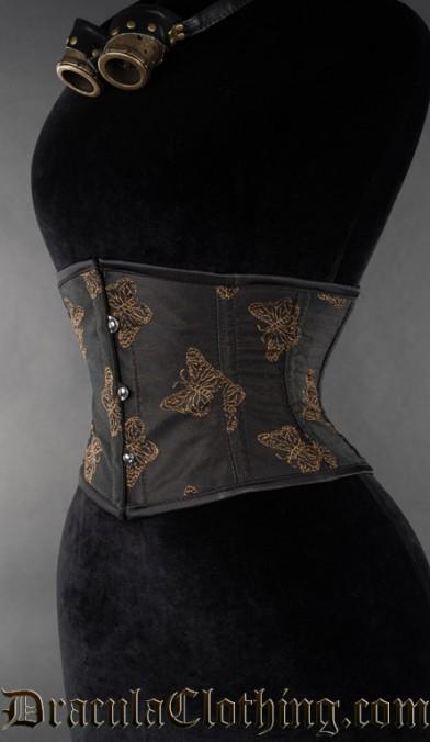 Bronze Butterfly Waist Cincher