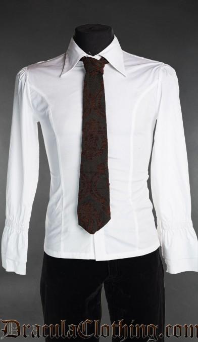 Steampunk Brocade Tie