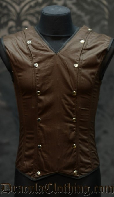 Brown Cotton V-Shaper
