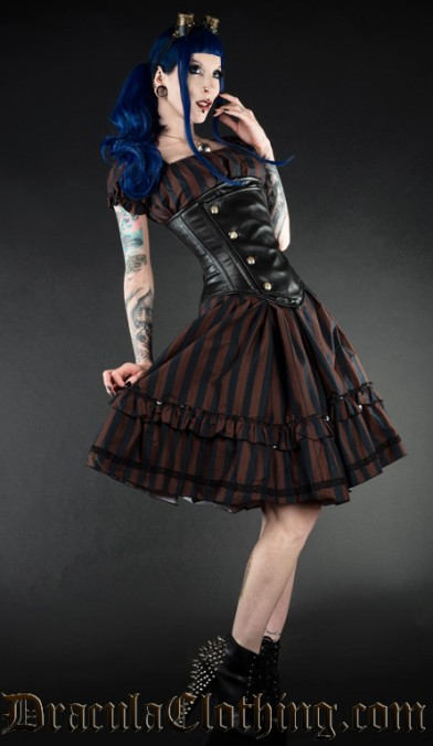 Steampunkabilly dress
