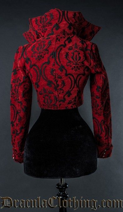 Crimson Evil Queen Jacket