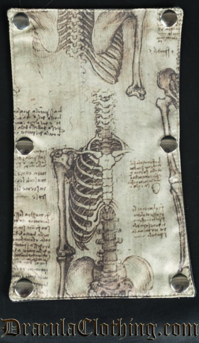 Da Vinci Skeletons Panel