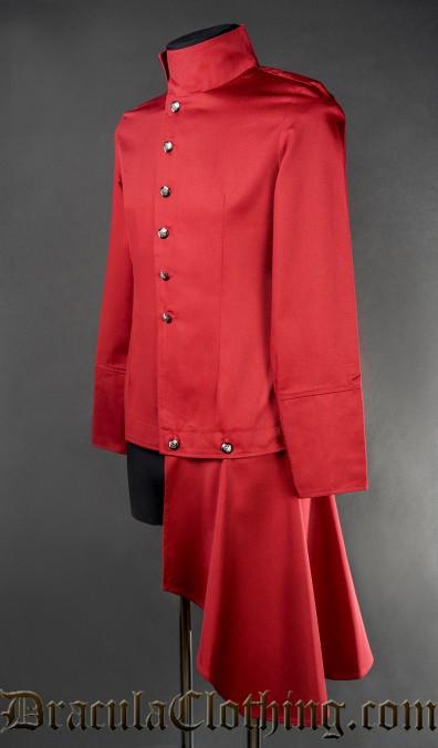 Red Japanese Shirt