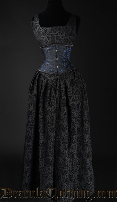 Elegant Brocade Dress