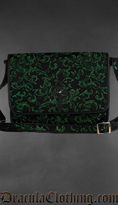 Emerald Ankh Shoulder Bag
