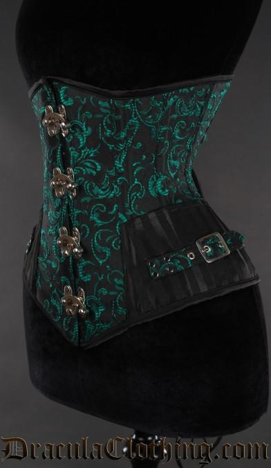 Emerald Assassin Clasp Corset