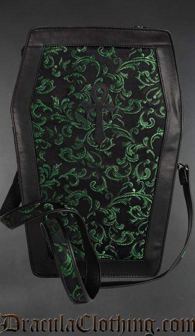 Emerald Big Ankh Shoulder Bag