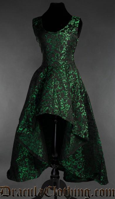 Emerald Succubus Dress