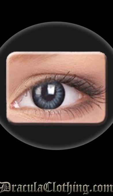 Big Eye Contact Lenses, Evening Gray