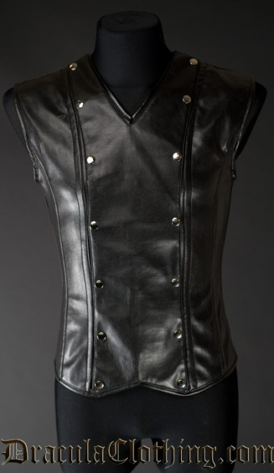 Faux Leather Aristocrat V-Shaper