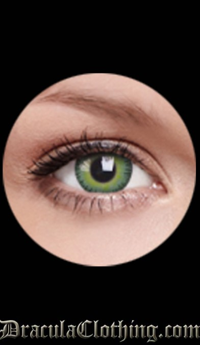 Yellow Green Contact Lenses