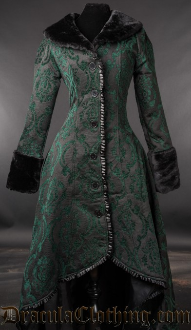 Green Evil Princess Coat