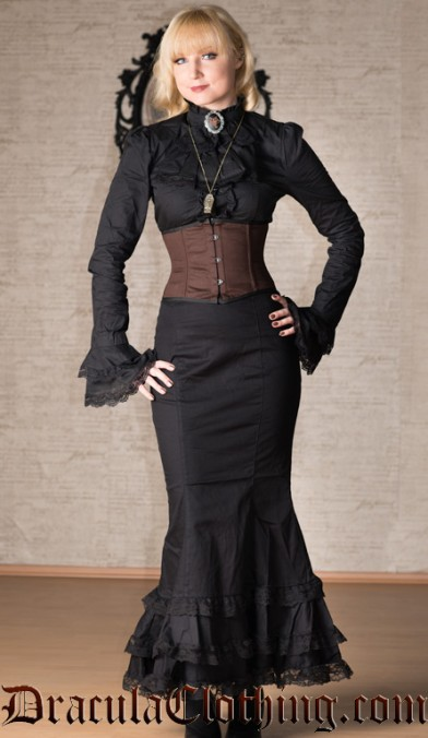 Lace Fishtail Skirt