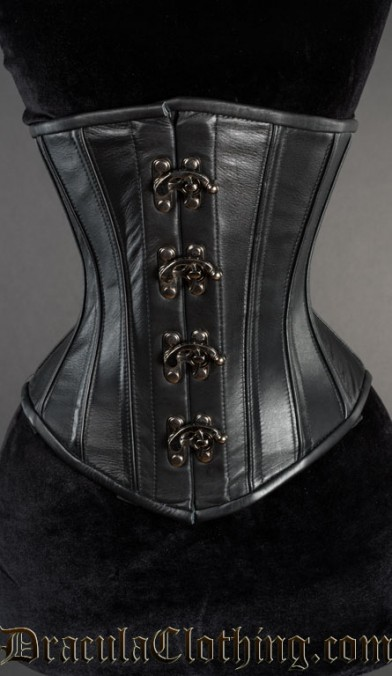 Classic Leather Clasp Corset
