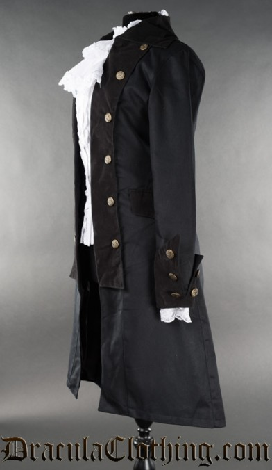Long Female Pirate Coat